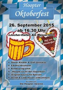 Plakat Hoopter Oktoberfest